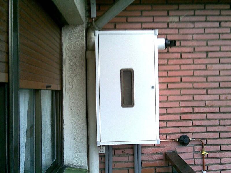 Basarrate instalaciones de calefacci n bilbao - Armario cubre calderas ...